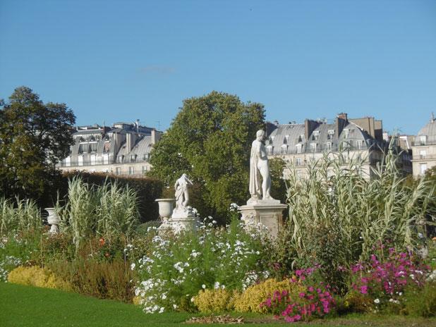 Visite guidée du jardin des Tuileries - Balades aux jardins