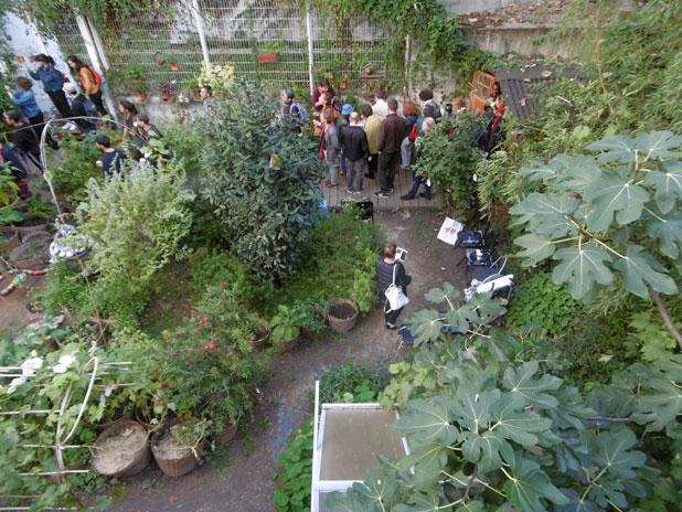 Balade naturaliste dans les jardins partagés du 18e