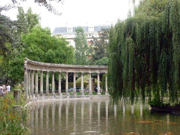 Visite guidée du parc Monceau