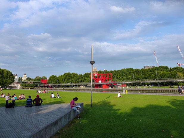 Visite guidée du Parc de la Villette