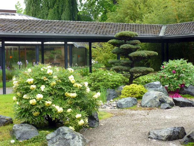 Visite guidée du parc floral
