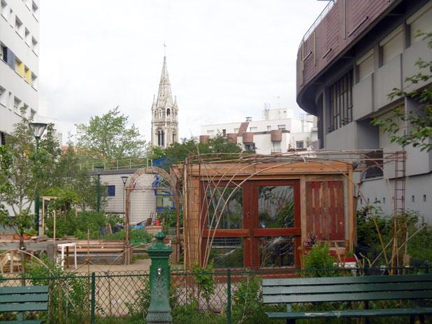 balade naturaliste dans le quartier de m nilmontant balades aux jardins. Black Bedroom Furniture Sets. Home Design Ideas