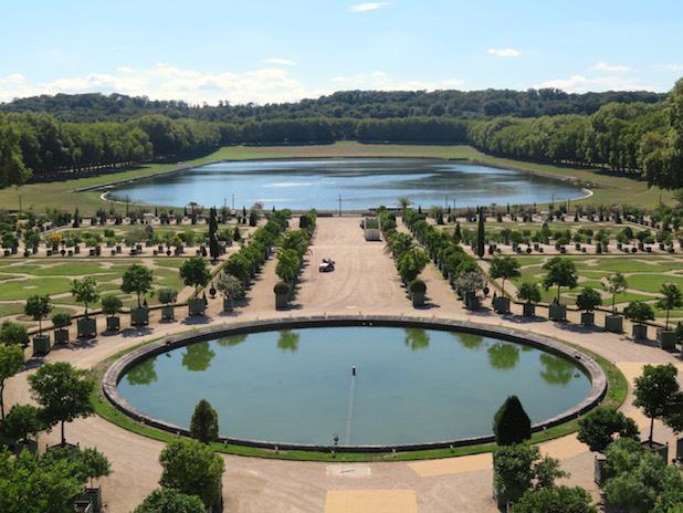 Balade dans les bosquets de Versailles